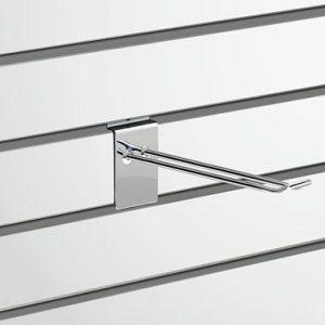Slatted Wall Fittings Slatwall D Hook - 200mm