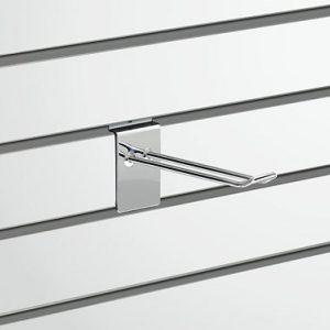 Slatwall Fittings Slatwall D Hook - 150mm