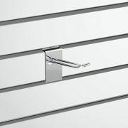 Slatwall Fittings Slatwall D Hook - 100mm