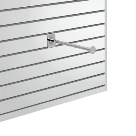 Slatwall Fittings Straight Bar - 300mm
